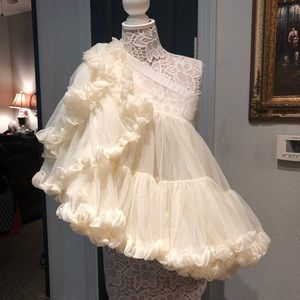 Dresses & Skirts - Stunning under skirt ruffled tutu puff skirt M